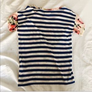 Madewell Tops - 2 for 1! Madewell t shirt tee stripe floral